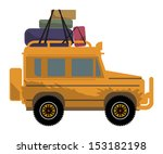 Off Road Vehicle  Vector...