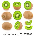 Large kiwi set with different...
