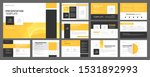 business presentation templates ... | Shutterstock .eps vector #1531892993