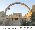 Arch Of The Hurva Synagogue ...