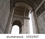 arc de triumph   Shutterstock . vector #1531907