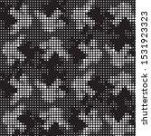 abstract grunge grid polka dot...   Shutterstock .eps vector #1531923323