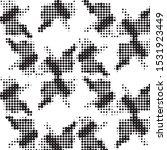 abstract grunge grid polka dot...   Shutterstock .eps vector #1531923449