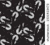 abstract grunge grid polka dot...   Shutterstock .eps vector #1531923473