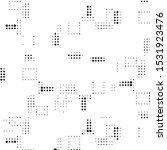 abstract grunge grid polka dot...   Shutterstock .eps vector #1531923476