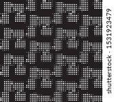 abstract grunge grid polka dot...   Shutterstock .eps vector #1531923479