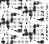 abstract grunge grid polka dot...   Shutterstock .eps vector #1531927580