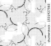 abstract grunge grid polka dot...   Shutterstock .eps vector #1531927583