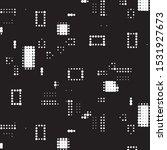 abstract grunge grid polka dot...   Shutterstock .eps vector #1531927673