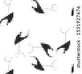 abstract grunge grid polka dot...   Shutterstock .eps vector #1531927676