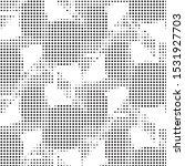 abstract grunge grid polka dot...   Shutterstock .eps vector #1531927703
