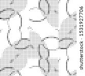 abstract grunge grid polka dot...   Shutterstock .eps vector #1531927706