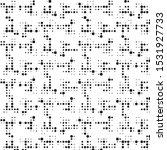 abstract grunge grid polka dot...   Shutterstock .eps vector #1531927733