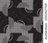 abstract grunge grid polka dot...   Shutterstock .eps vector #1531927769