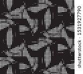 abstract grunge grid polka dot...   Shutterstock .eps vector #1531927790