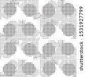 abstract grunge grid polka dot...   Shutterstock .eps vector #1531927799