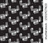 abstract grunge grid polka dot...   Shutterstock .eps vector #1531927823