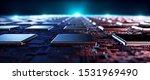 Circuit Board Futuristic Server ...
