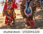 Powwow.  Native Americans...