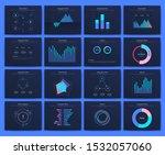 infographic vector brochure... | Shutterstock .eps vector #1532057060