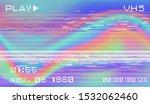 retro vhs background like in...   Shutterstock .eps vector #1532062460