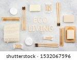 Eco Living Concept. Bamboo...