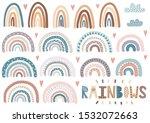 Cute Rainbows  Clouds  Hearts...