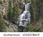 Close Shot Of Undine Falls In...
