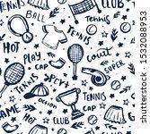 tennis seamless pattern in...   Shutterstock .eps vector #1532088953