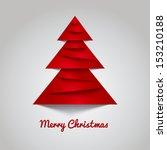 simple christmas vector... | Shutterstock .eps vector #153210188