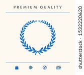 laurel wreath   elegant symbol. ... | Shutterstock .eps vector #1532220620