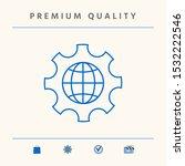 globe of the earth inside a...   Shutterstock .eps vector #1532222546