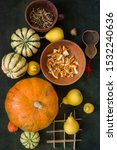 Still Life With Pumpkins And...