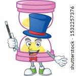 magician sandglass isolated... | Shutterstock .eps vector #1532257376