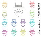 bearded irishman multi color...