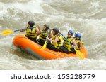 Raft White Water Boating Sport...