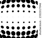 half tone dots. dotted  circles ... | Shutterstock .eps vector #1532317046