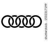 abstract interlace  interweave... | Shutterstock .eps vector #1532317199