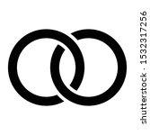 abstract interlace  interweave... | Shutterstock .eps vector #1532317256