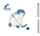 dot to dot game. educational... | Shutterstock .eps vector #1532321486