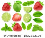 Collection of lime and...