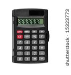 Pocket Calculator  Isolated On...