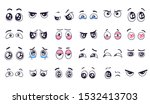 cartoon eyes. comic watching... | Shutterstock .eps vector #1532413703