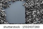 elegant autumn background. 3d... | Shutterstock . vector #1532437283