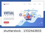 virtual reality landing page...