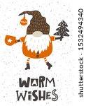 Warm Wishes Hand Drawn...