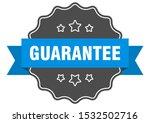 guarantee blue sign. guarantee...   Shutterstock .eps vector #1532502716