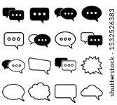 dialog set icon  logo isolated...
