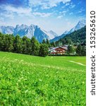 Beautiful Green Valley In The...