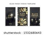 black friday sale banner...   Shutterstock .eps vector #1532680643